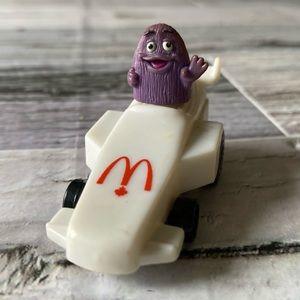 McDonald's Vintage Grimace pullback action car